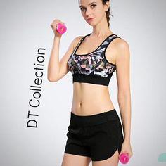 Professional Fitness Yoga Bra Sports Tank Top Shockproof