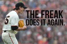Tim Lincecum's 2nd Career No-Hitter, June 25, 2014