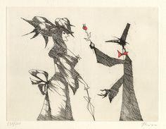 paul flora radierungen Paul Flora, Crow, Austria, Theater, Lettering, The Originals, Ebay, Raven, Painting Art