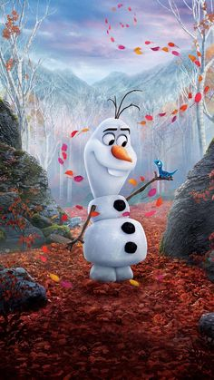 Frozen II (2019) Phone Wallpaper   Moviemania