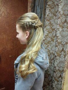 Prom hair by ashley von eye