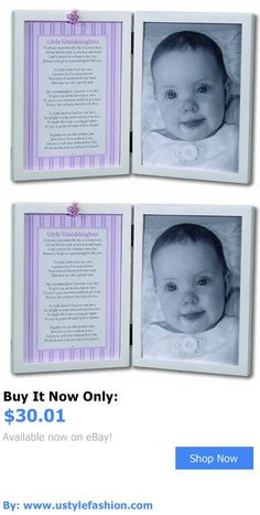 Baby Picture Frames: The Grandparent Gift Co. Sweet Something Frame Little Granddaughter BUY IT NOW ONLY: $30.01 #ustylefashionBabyPictureFrames OR #ustylefashion