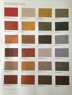 Sherwin Williams semi solid stains for deck & fence | paints ...