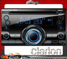 CX501 CLARION Stereo CD/MP3/WMA/AAC D-DIN / FP Aux In.