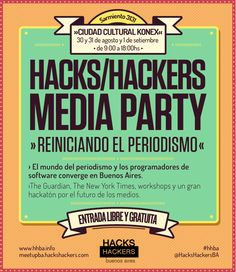 La venganza hacker. HacksHackers, día 2