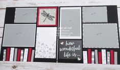 Click here to see a ton of projects (4 cards, 2 candy boxes, a couple 12x12 scrapbook page double-page layouts & a double-sided Project Life layout) created with the December 2016 Another Great Year Paper Pumpkin kit … #stampyourartout - Stampin' Up!®️️️ - Stamp Your Art Out! www.stampyourartout.com #scrapbooktips