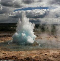 changements de phase de l'eau : les geysers + loi de Henry : volcanisme explosif et geysers froids