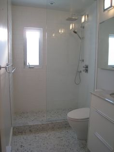 ensuite done in bianca cararra marble |CREED