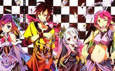 No Game No Life Uncensored Bluray [BD]   480p 60MB   720p 110MB MKV   #NoGameNoLife  #Soulreaperzone  #UncensoredAnime