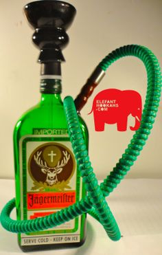 Jagermeister Hookah. Good excuse to down a whole bottle of jager to try making one