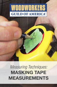 Measuring Techniques: Masking Tape Measurements  #WWGOA