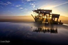 Photography:  From hobby to full time job   Peter Iredale Shipwreck  by leonhugo