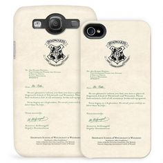 Harry Potter Hogwarts Acceptance Letter Phone Case for iPhone and Galaxy. Hahaha, mkay, that's kinda cool Harry Potter Memorabilia, Harry Potter Merchandise, Harry Potter Shop, Harry Potter Hogwarts, Harry Potter Acceptance Letter, Cool Iphone Cases, Iphone 4, Iphone Hacks, Harry Potter Iphone Case