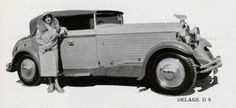 1931 D8 by Letourneur & Marchand see here with Madame Proès.