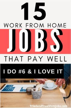 15 Real Work from Home Jobs in 2021 that Pay Well! - All Tried & Tested Earn Money From Home, Earn Money Online, Online Jobs, Way To Make Money, Earning Money, Money Saving Mom, Best Money Saving Tips, Legitimate Work From Home, Work From Home Tips