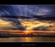 Dusk --Yorkville IL by bryanhrdz