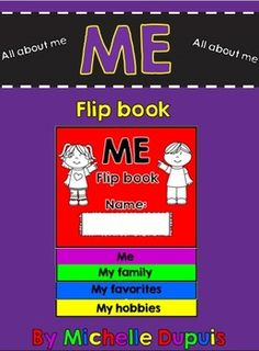All about ME: All about ME flip book: This flip book is a great self-reflection booklet that will allow your students to share information about themselves. Flip books are so much fun and students can be creative.