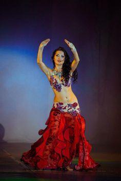 Marta Korzun... love the costume