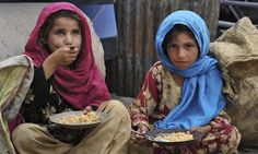 Half of Afghan children suffer irreversible harm from malnutrition // #hunger #food #ONELIFE #seehelptell