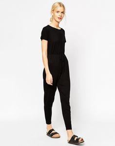 Image 4 of ASOS T-Shirt Drawstring Jumpsuit
