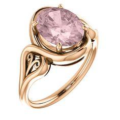 Morganite Ring, Red Garnet, Blue Topaz, Amethyst, White Gold, Rose Gold, Engagement Rings, Gemstones, Absolutely Stunning