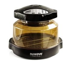 """NEW NuWave Pro Plus Oven with Stainless 3"""" Steel Extender Ring, Black 20632 #Nuwave"""