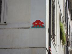 #streetart #spaceinvaders Rome