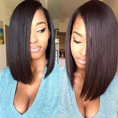 STYLIST FEATURE| Love this bob ✂️styled by #SouthFlorida stylist @LadyLavish_ So sexy  #VoiceOfHair