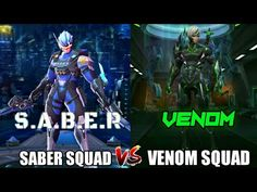 Side By Side Comparison, Mobile Legend Wallpaper, Mobile Legends, Venom, Squad, Youtube, Movie Posters, Fictional Characters, Tattoo