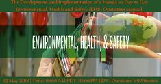 Environmental Health, Health And Safety, Manual, Hands, Day