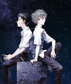 # Neon Genesis Evangelion - Shinji x Kaworu