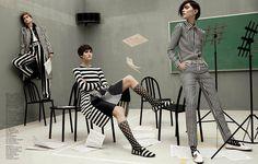 """Mod Revolution"" Vogue China February 2013 - Photography by Daniel Jackson & Styling by Nicoletta Santoro"