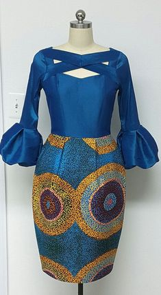 african style clothing You can never have too many African print clothes. This is a roundup of the absolute best African styles right now plus details on where to get them. African Fashion Designers, African Inspired Fashion, African Dresses For Women, African Print Dresses, African Print Fashion, Africa Fashion, African Attire, African Wear, African Fashion Dresses
