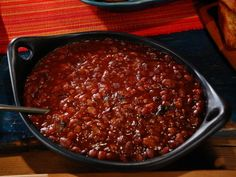 Pinto Beans with Burnt Ends