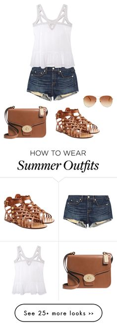 """Summer Outfit"" by milanopradalover on Polyvore"