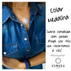 #colar #medalha #protecao