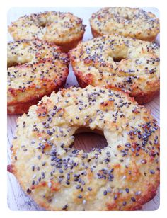 The recipe for my Paleo Chia Seed Bagels is now up on www.thelittlegreenspoon.com! Gluten Free, Dairy Free & Paleo.