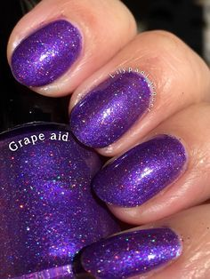 Grape Aid - Lilypad Lacquer.