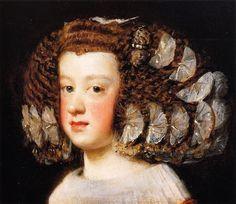 $95,Infanta Maria Teresa 3    Artist: Velazquez