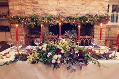 Inspiration Autumnal Marsala Gold Wind In The Willows Wedding