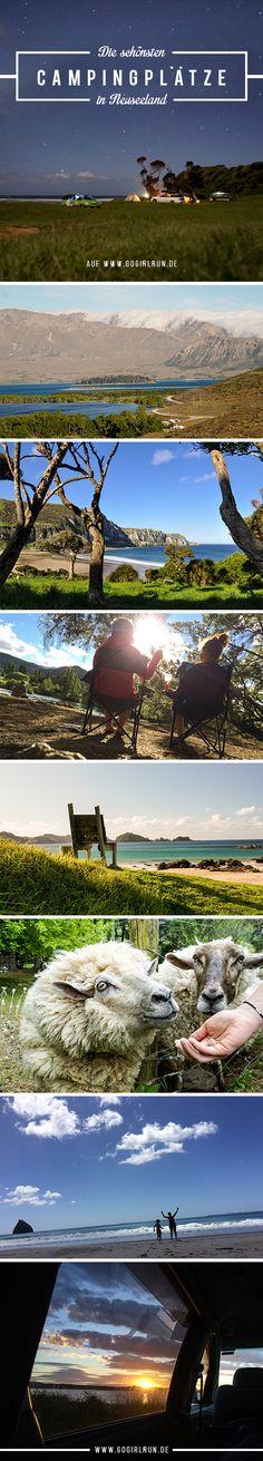 Campen in Neuseeland: Die Auswahl ist riesig, darum sind hier meine Empfehlungen für Neuseelands schönste Campingplätze in den spektakulärsten Landschaften.