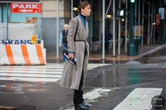 New York Fashion Week FW 2016 Street Style: Annina Mislin