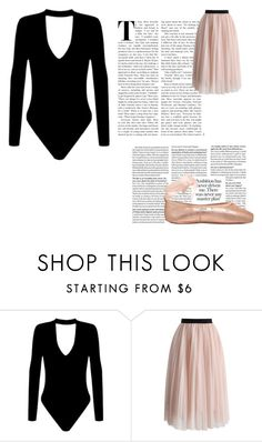 """""""Ballet"""" by ry-luve ❤ liked on Polyvore featuring Chicwish"""