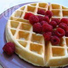 Basic Waffles @ allrecipes.com.au