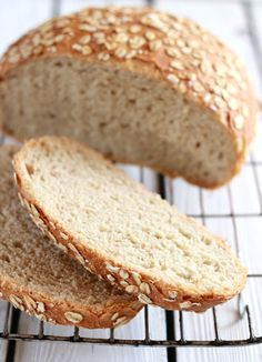 no-knead honey whole wheat bread | The Clever Carrot. Now I just need a six quart dutch oven.