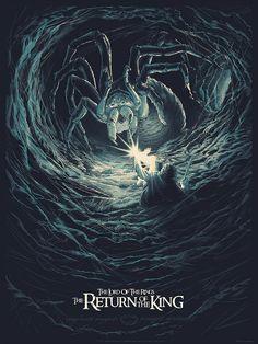 Image du film The Lord of the Rings: The Return of the King (Peter Jackson) de Juan Esteban Rodriguez Jrr Tolkien, Hobbit Art, O Hobbit, Das Silmarillion, Arte Do Harry Potter, Desenhos Harry Potter, Movie Poster Art, Poster Series, Alternative Movie Posters