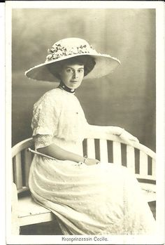 images of crown princess cecilie of prussia - Google Search