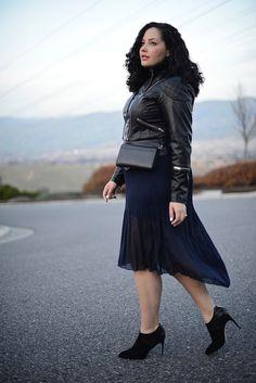Jacket: Mynt 1792 c/o | Top: Asos, old (similar here) | Skirt: Forever 21, old (similar here) | Shoes: Sam Edelman, old (similar here) | Bag: Kate Spade *o