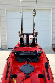 Kayak Fishing Tips Fishing - Kayak fishing tips & tipps zum kajakfischen & conseils de pêche en kayak & consejo - Kayak Fishing Gear, Kayak Fishing Accessories, Trout Fishing Tips, Kayak Camping, Fly Fishing, Fishing Lures, Fishing Boats, Fishing Tricks, Fishing Stuff