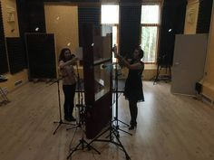 Another succesful, busy day at Ines Studios with Georgiana Anghel & Daniela Nane.